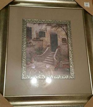 2 large (from Kirklands) framed pictures