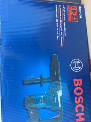 Bosch sds max rotary hammer