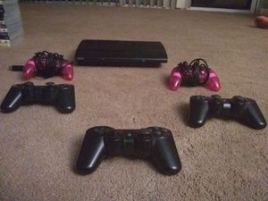 Playstation 3 con 5 controles y 12 juegos consola en buen estado