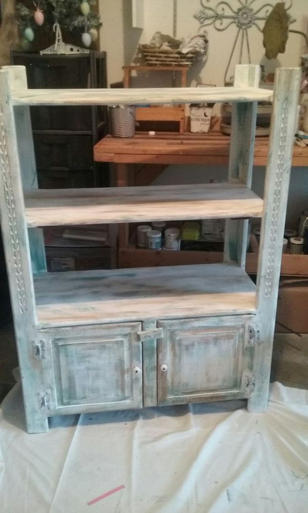 Distressed cabinet bookshelf furniture in everett wa for Furniture in everett