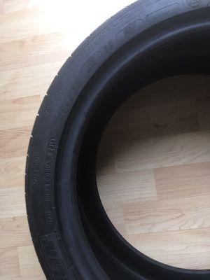 Tire run flat michelin