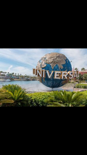Four 2 park passes needed for universal studios for 5/18-5/23.