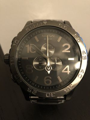 New Nixon Chrono 51-30 Gunmetal/ Black Watch A083-632