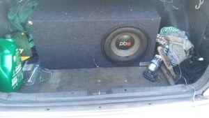 Power bass sub12 sub and port box