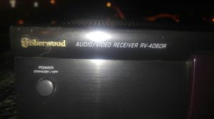 Sherwood Stereo receiver rv4060r