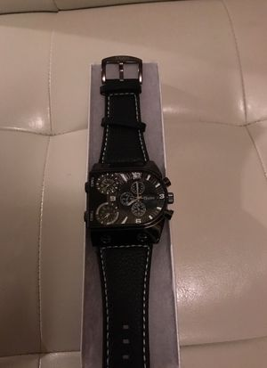 Brand new designer watch geniune leather band never been worn. Lawrenceville Ga