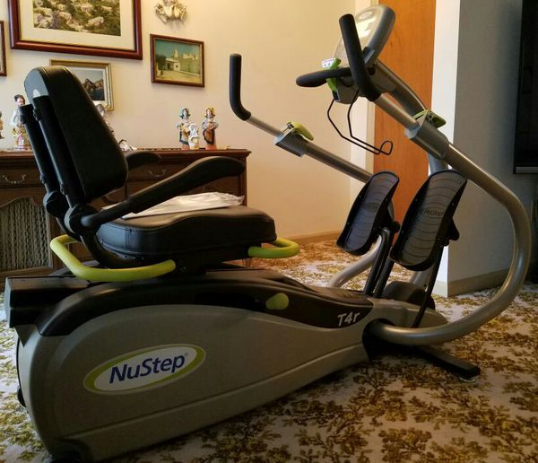 Brand New Nustep T4r Recumbent Cross Trainer Sports Outdoors