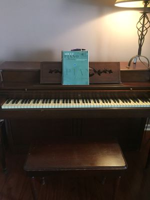 No longer used piano in search of a good home where someone will actually play it. Asking $200 obo