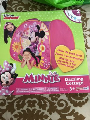 Minnie Mouse tent