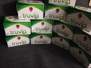 * 12 Boxes of Truvia. Please See All The Pictures and Read the description