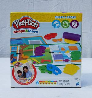 Play dough shape and learn play set