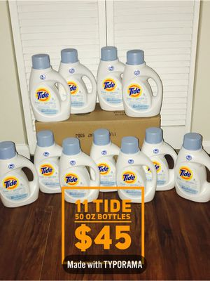 Free & Clear Tide - 50 oz bottles