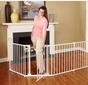 3-in-1 Child Safety Gate & Playard