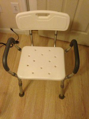 Bath-shower chair