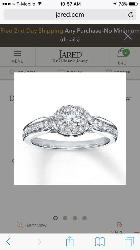 Diamond Engagement Ring 12 ct tw Roundcut 14K White Gold Jewelry