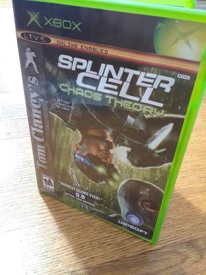 XBOX Tom Clancy's Splinter Cell Chao Thory