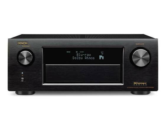 Denon AVR-X4100W 7.2 AV Receiver, Wi-Fi, Bluetooth, Dolby Atmos
