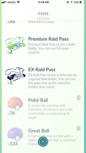Mewtwo EX Raid Pass