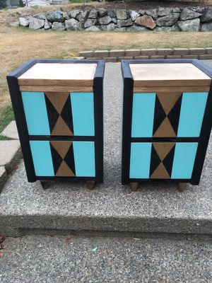 Set of two nightstands from The Harmon in Tacoma