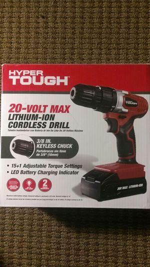 Hyper tough cordless drill