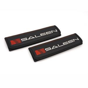Mustang Saleen Dark Horse seat belt covers shoulder pads Interior accessories with emblem
