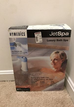 JetSpa luxury bath spa