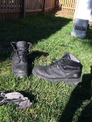 Timberland Pro workboots plastic toe no steel toe