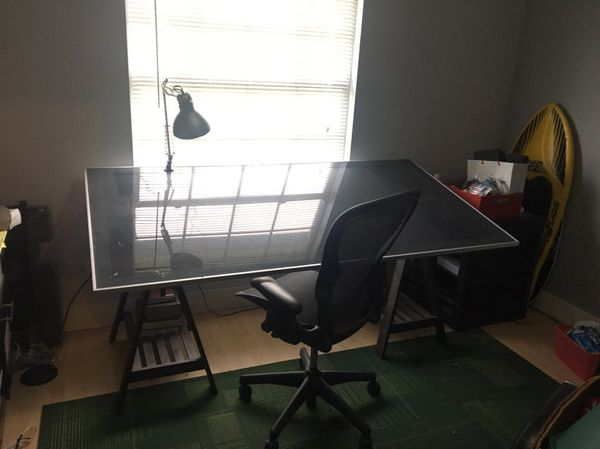 drafting table, light and chair (furniture) in riverview, fl