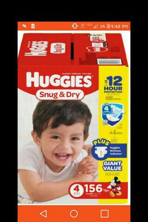 Huggies size 3 and 4
