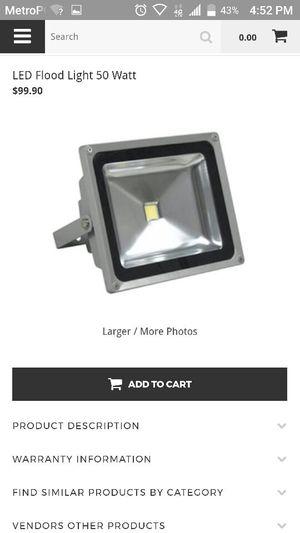 Led Flood light brand new still in box