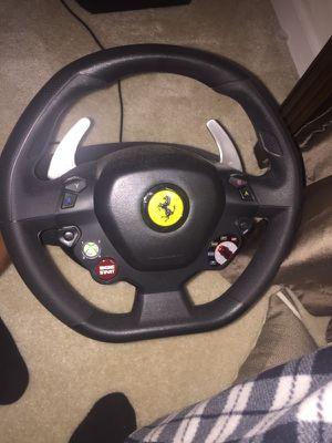 Ferrari 458 Italia replica racing wheel.