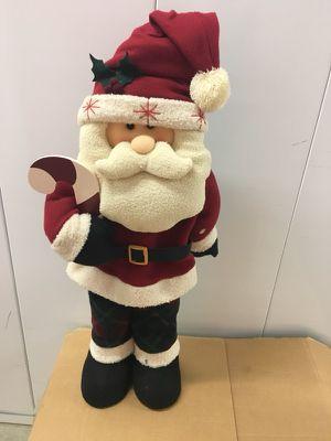 Santa - 2 1/2 feet tall.