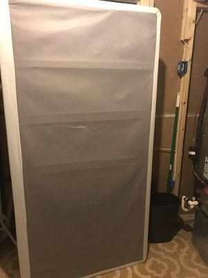 Twin spring box mattress