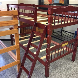 Brand New Twin Size Cherry Wood Bunk Bed