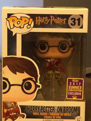 SDCC 2017 Exclusive Pop! Movies Pop! Harry Potter: Harry on Broom (rare exclusive)