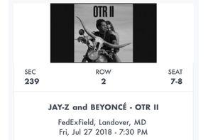 OTR II Beyoncé and Jay-Z