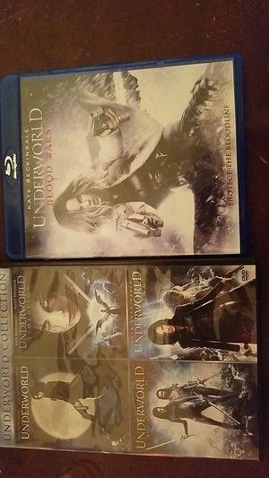 Underworld movie collection 1 through 5