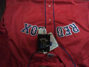 Red Sox Jersey With Tag