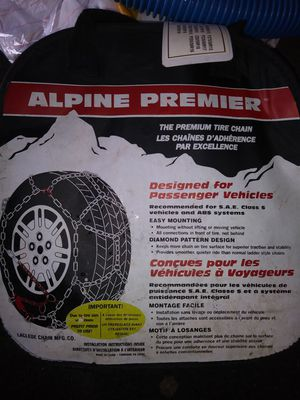 Alpine premier the premium tire chains part number 1555
