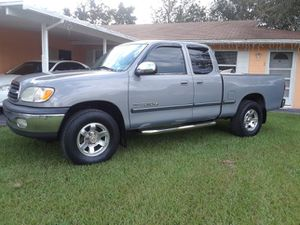 01 TOYOTA TUNDRA SR5 6 CYLINDER GREAT CONDITION CLEAN TITLE.