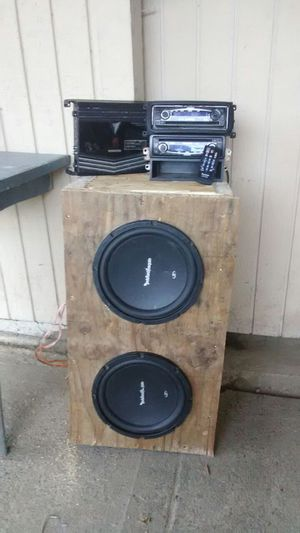 Subs amp speakers