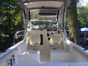2002 Sea Fox 23ft walkaround boat and trailer only