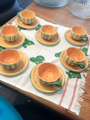 Italian tea cups