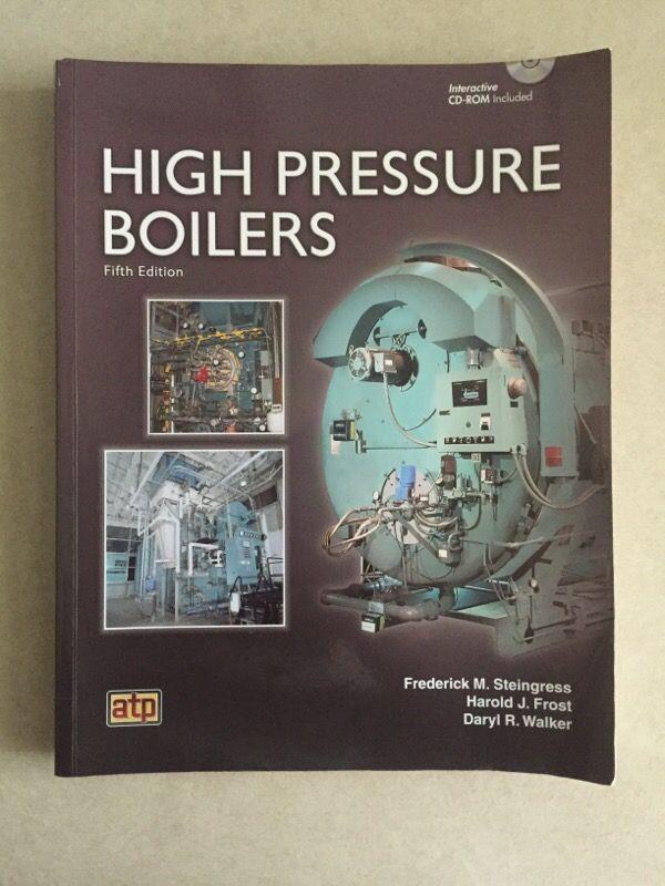 Low Pressure Boiler and High Pressure Boiler book set (Books ...