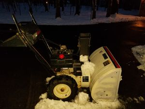 Snowboss 850 industrial snowblower