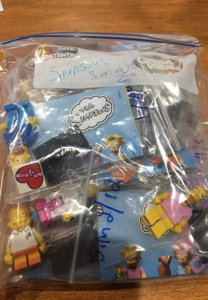 Lego Simpsons series 2 full set