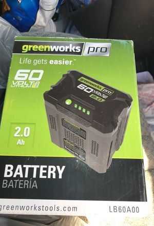 Green works pro battery