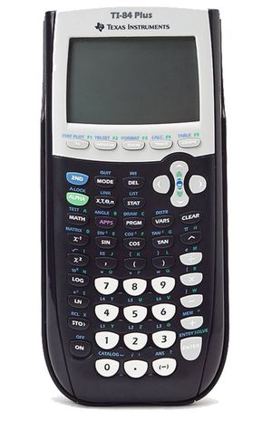 NEW! Texas Instruments TI-84 Plus Graphing Calculator
