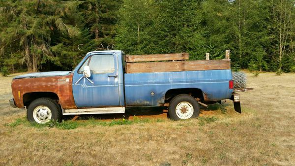 1978 chevy scottdale k20 cars amp trucks in silverdale wa offerup