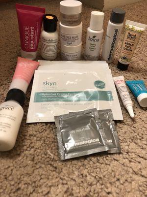 Skincare Samples!!